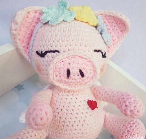 cerdito-crochet